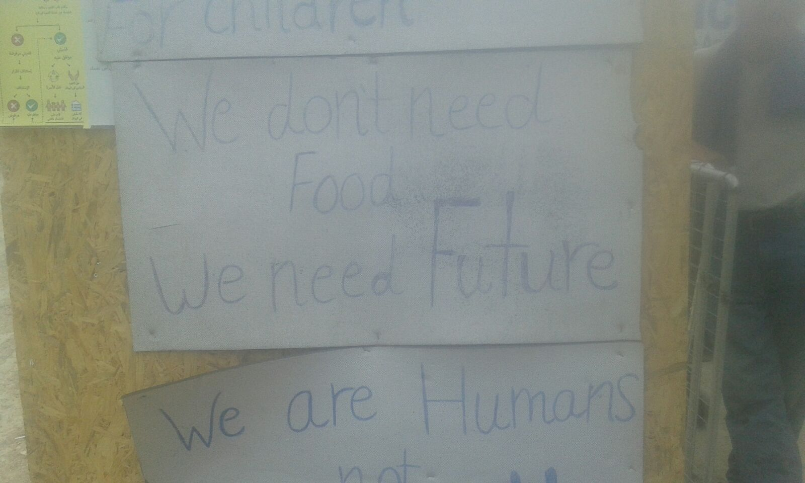 Hunger Strike Chios No Food but Future May 2016